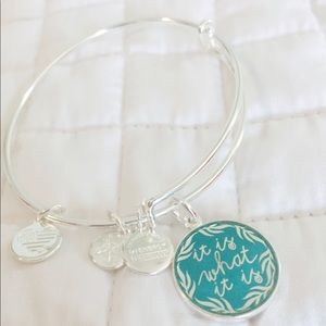 Alex & Ani Is What It Is Bangle